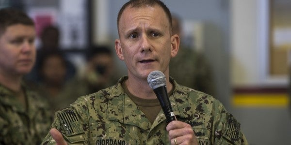 Navy's Top Enlisted Sailor Is Abusive And Bratty, Subordinates Allege