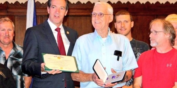 This Korean War Veteran Finally Received His Purple Heart After 66 Years