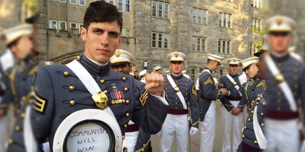 Army's 'Commie Cadet' Disciplined; Masses Fail To Rise Up
