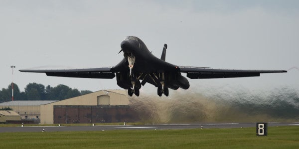New Details Surrounding That Fiery B-1B Emergency Landing In Texas Are Here