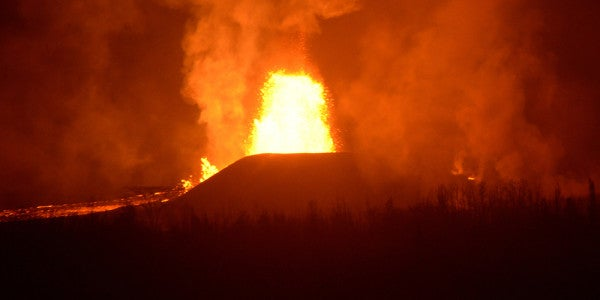 The Hawaii National Guard Is Fighting An Impossible Enemy: Volcanic Lava