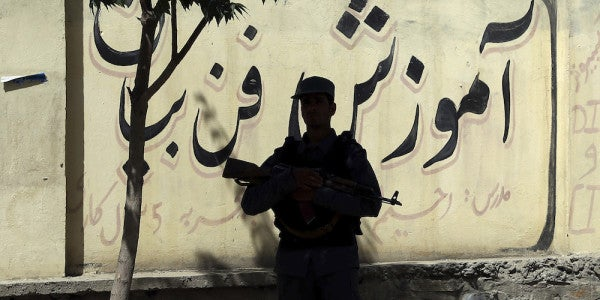The Taliban Just Struck A Demoralizing Blow Against Afghan Security Forces