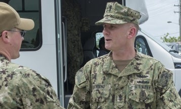 Navy's Top Enlisted Sailor To 'Step Aside' Amid Investigation Into Toxic Leadership Allegations