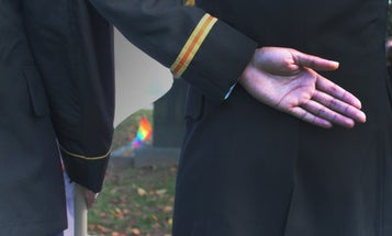 LGBTQ Vets, Uncomfortable With VA, Look To Each Other For Mental Health Care