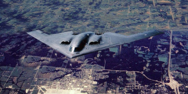Inside A B-2 Spirit Stealth Bomber Mission Against ISIS In Libya