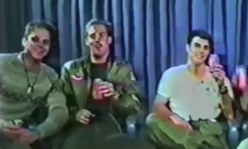 I Watched This Retro 'Top Gun' Interview Aboard The USS Ranger So You Don't Have To