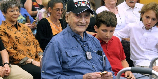 World War II Army Intelligence Officer Receives Congressional Gold Medal