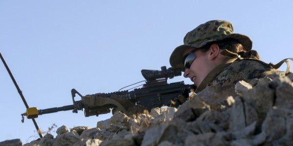 Second Female Marine Finishes Infantry Officer Course