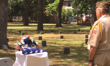 100 Years After His Death, A Civil War Veteran Gets The Burial He Deserves