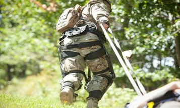 This Powered Exoskeleton Is Here To Make Ruck Marching A Breeze