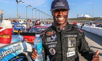 This NASCAR Driver And Naval Officer Helped Save A Family From Their Burning Minivan