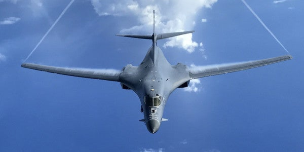 The Air Force Is Exploring A Deadly New Role For The B-1B Lancer