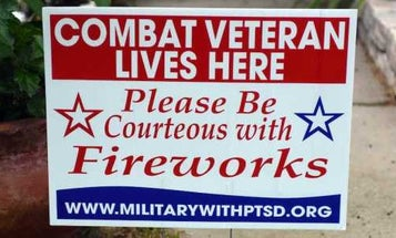 'Be Courteous With Fireworks': Veterans Ask A Community To Help Those With PTSD
