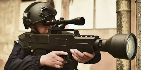 China Claims This 'Laser AK-47' Can Set You On Fire. That's Probably Bullsh*t