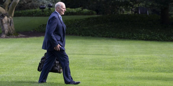As Kelly Eyes The Door, A Look Back At Him And Mattis Firing A Colonel In The Iraq War
