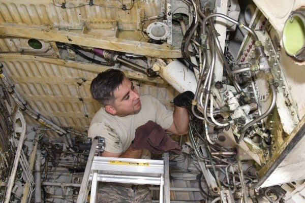 Air Force spends $60 million to defeat its nemesis: rust