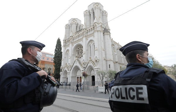Three dead as woman beheaded in France, gunman killed in second incident