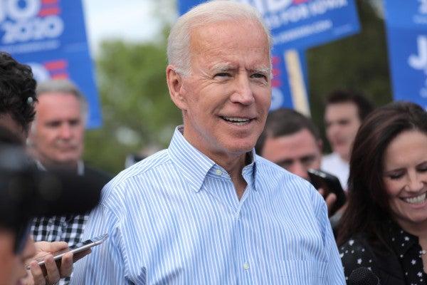 Joe Biden will be your next commander in chief