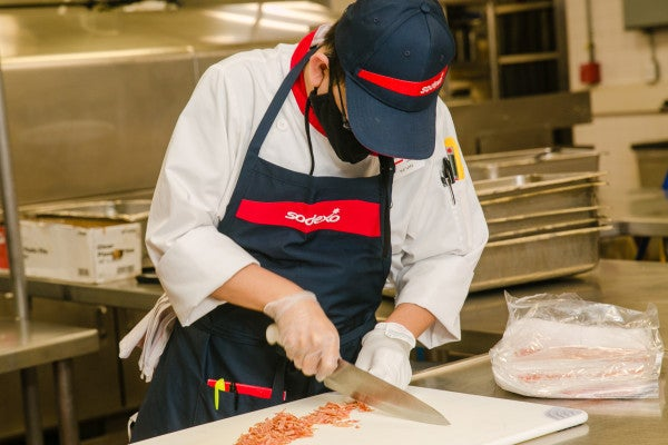 Meet the deaf and blind chef who just landed his dream job at a Marine base