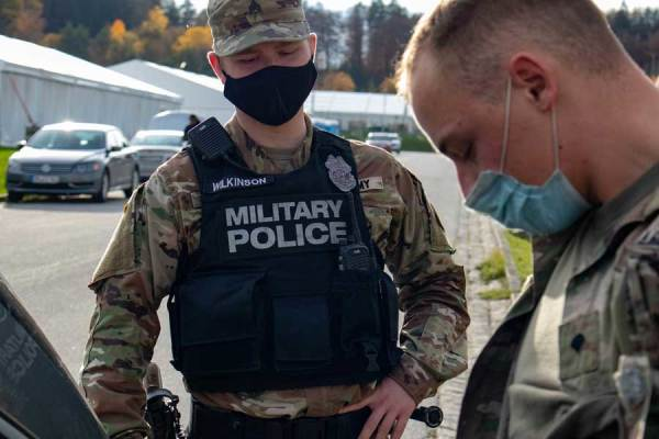 'Everybody we deal with is trained to kill' — Why we don't see military police brutality