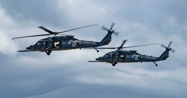 The Air Force's new combat rescue helicopter is officially here to save the day