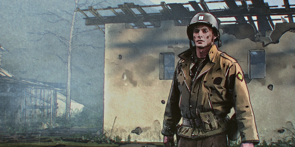 'The Liberator' is a visually stunning and grim World War II series unlike any other