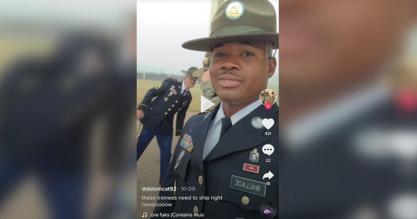 The Army is 'addressing' a drill sergeant's TikTok rant about 'soft' recruits using cell phones