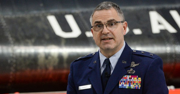 Air Force general charged with sexual assault
