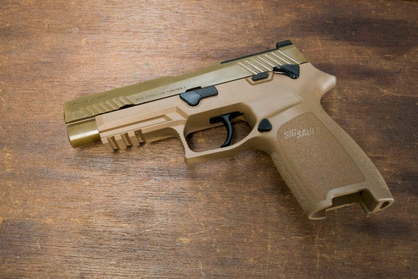 Every US military branch is about to get its hands on the Army's new sidearm of choice