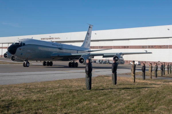 'You are the reason I drink' — Airmen bid adieu to decrepit aircraft dubbed 'Lucifer's Chariot'