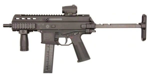 The Air Force is picking up a handful of feisty new submachine guns
