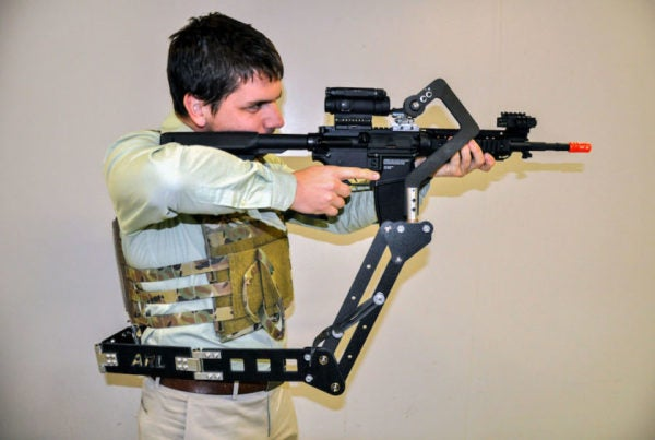 The Army Is Testing A Mechanical 'Third Arm' Right Out Of 'Aliens'