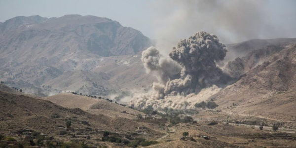 The US Is On Pace To Bomb Afghanistan More Than Ever This Year — With No End In Sight