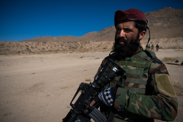 With The Taliban On The Offensive, The Future Of Afghanistan May Depend On This Homegrown Commando Force