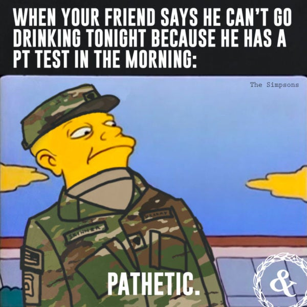 The Life Of The Lower Enlisted, In 5 Memes