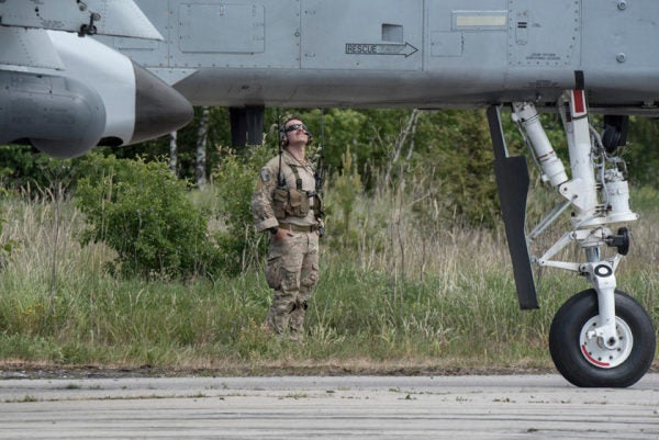Air Force A-10 Warthogs Are Practicing For Rough Landings Close To The Russian Border