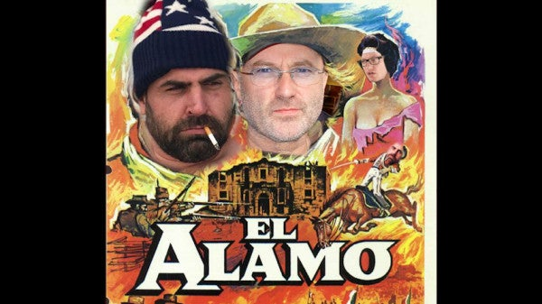 Phil Collins Really Loves The Alamo