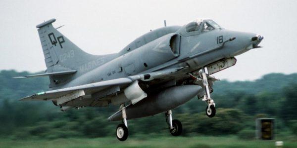 That Time A Marine Mechanic Took A July 4th Joyride In An A-4M Skyhawk