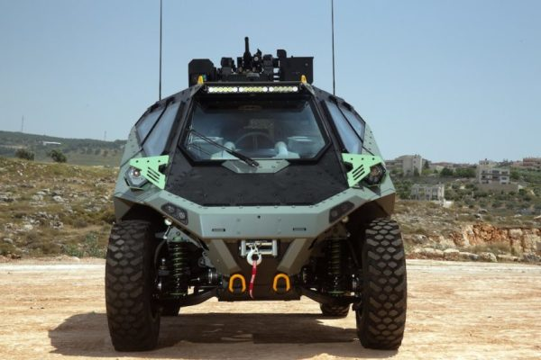 This New Israeli-Made Armored Personnel Carrier Looks Like A Badass Space Buggy