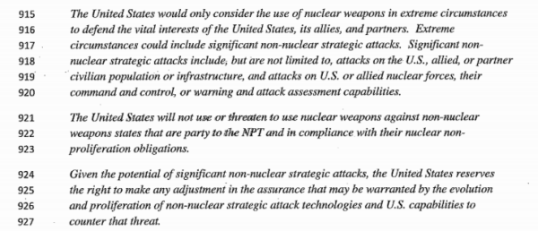 The White House May Go Nuclear In Response To Future Cyberattacks — Literally