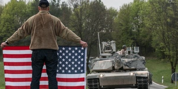 US Tanks Just Marched Down German Roads For The First Time In 15 Years