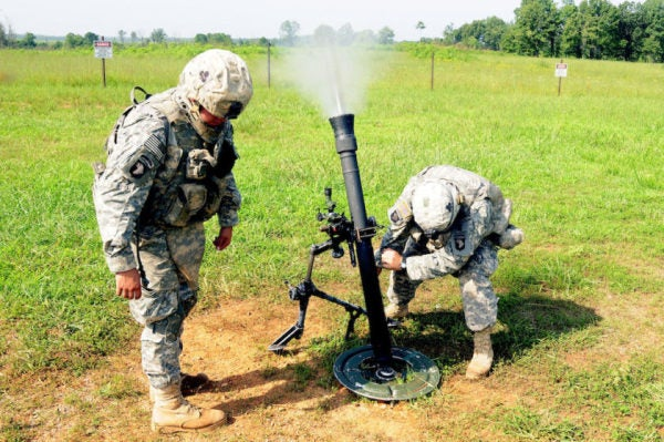 Meet The Best Mortar Team In The US Army