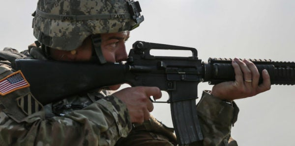 The Army Wants To By Thousands Of New M16 Rifles, But Not For US Soldiers