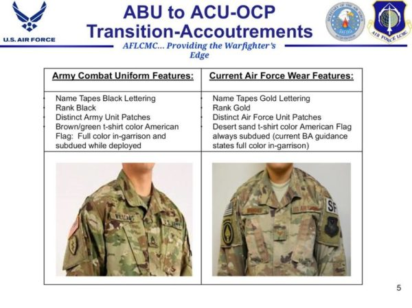 The Air Force May Switch To Army Camo Sooner Than Expected — For An Insane Price