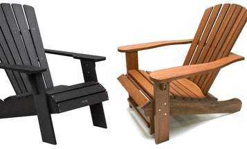 Kick your feet up with these all-star Adirondack chairs