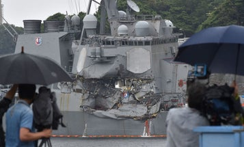 Report: USS Fitzgerald Ignored Cargo Ship's Warnings Before Deadly Impact