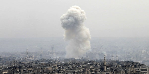 The US-Led Coalition Just Bombed Pro-Regime Forces In Syria