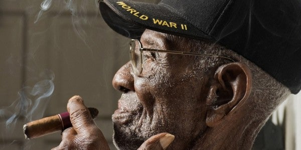 The Oldest Living World War II Veteran's Secret To Long Life: Whiskey And Cigars