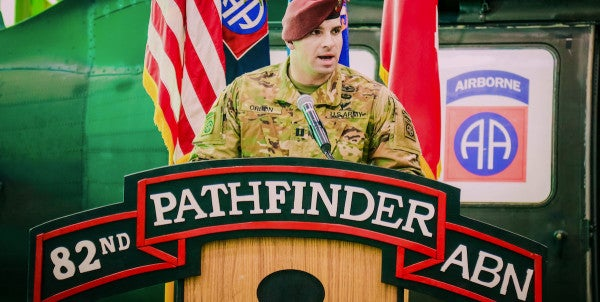 Army's Last Pathfinder Company Deactivates At Fort Bragg