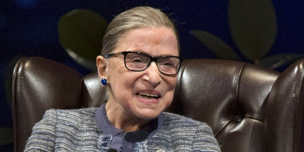 Ruth Bader Ginsburg Is Hella Stronger Than You, Thanks To This Soldier